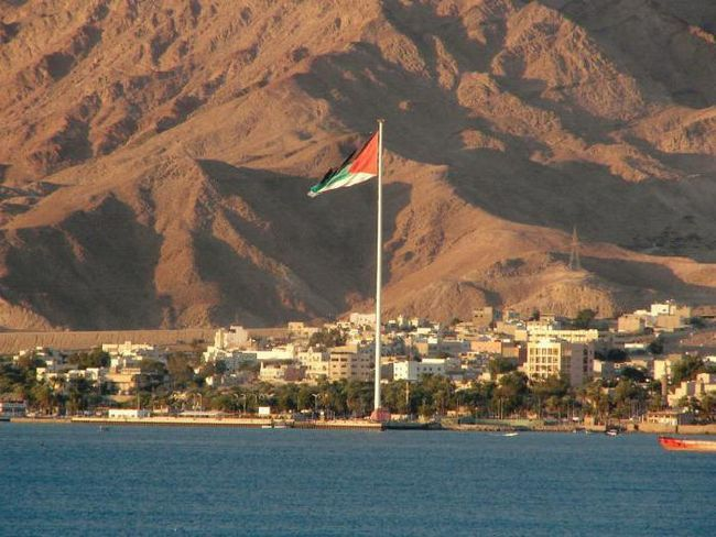 Arabská země Jordánsko - jordánské království: popis