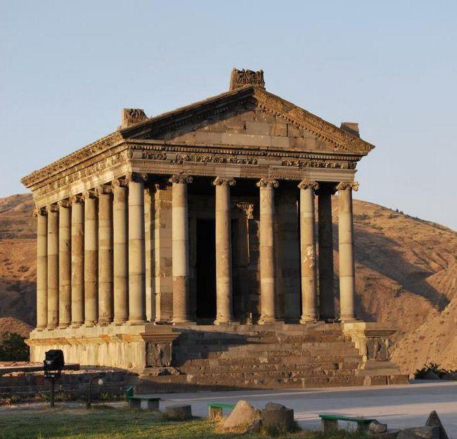 Arménie, Garni (chrám). Arménská republika: zajímavosti