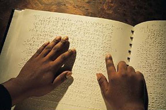 Braillova abeceda pro nevidomé