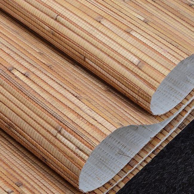 Bamboo tapety v interiéru: fotografie, jak se lepidlo?