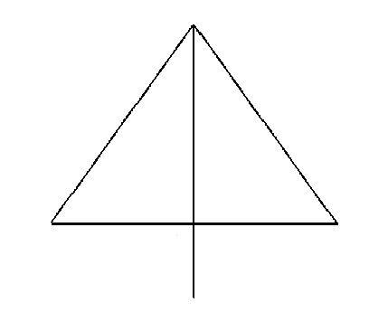 Úhlová poloha trojúhelníku