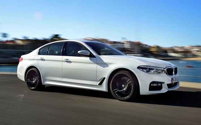 BMW 5: fotografie, specifikace, recenze