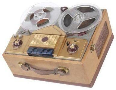Záznamník magnetofonu je prostředkem pro replikaci zakázaných záznamů v SSSR