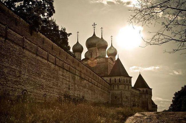 Borisoglebský klášter, Jaroslavský kraj: popis