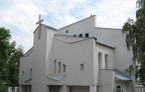 Kostel přeměny v Samaře. Historie vývoje