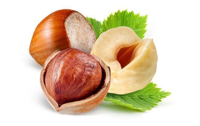 Jak užitečné lískové ořechy, chemické složení, kalorie, kontraindikace