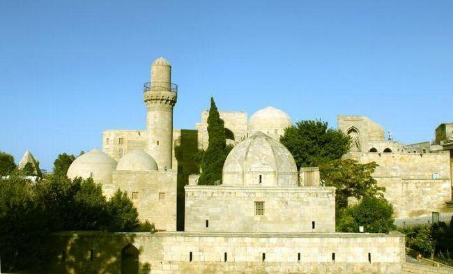 Palác shirvanshahs: popis, exkurze. Baku město: památky