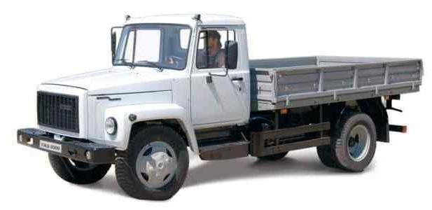 GAZ-3309. Charakteristiky