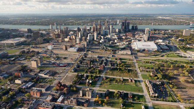 Město Detroit (Michigan): zajímavé informace o městě a popis výjimečných atrakcí