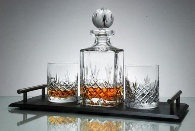 Dekantér pro whisky - popis, typy a zajímavosti