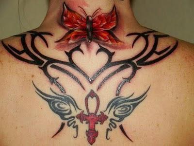 dámské tetování
