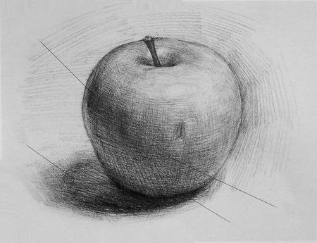 Jak nakreslit jablko: naučit se vidět krásné v obyčejné