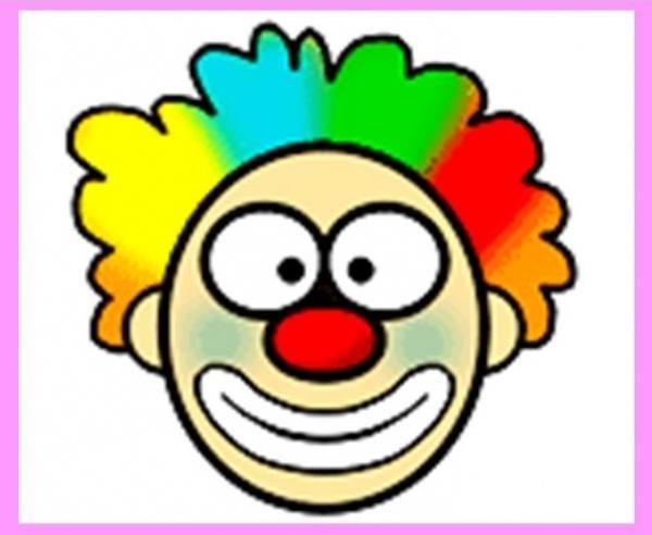 jak nakreslit klaun