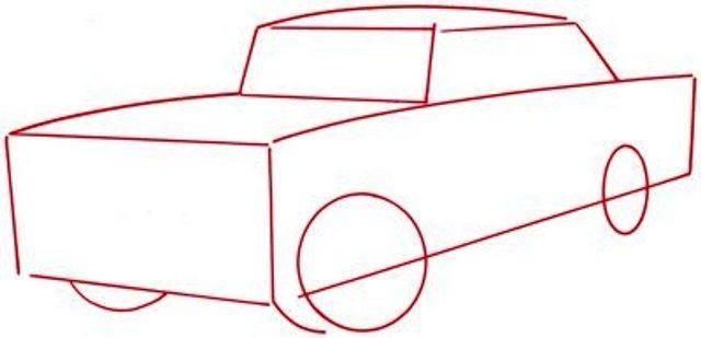 Jak nakreslit auto s tužkou - mistrovskou třídou