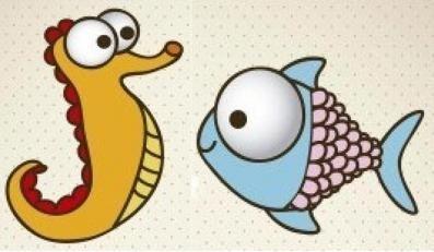 Jak nakreslit rybu a akvárium - dvě hlavní třídy