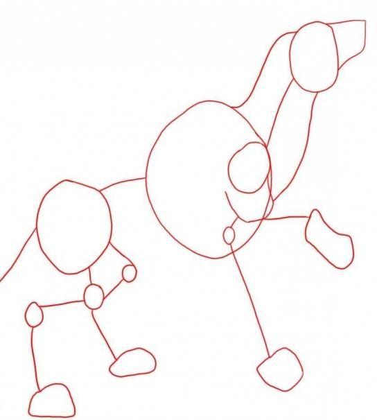 Jak nakreslit vlka s tužkou - kreslení krok za krokem