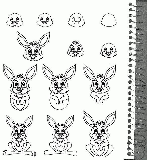 Jak nakreslit zajíce pomocí tužky