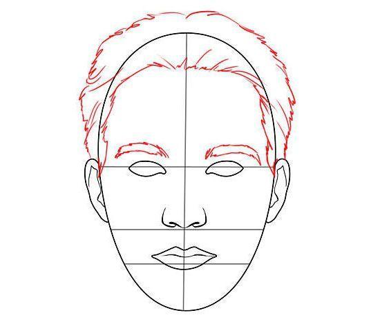 jak nakreslit tvář člověka