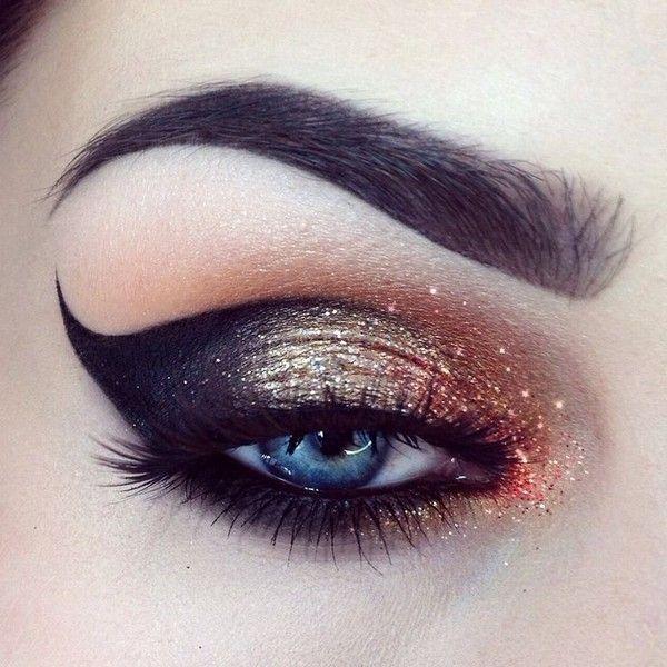 Jak udělat make-up `kočičí oko `: krok za krokem fotografie