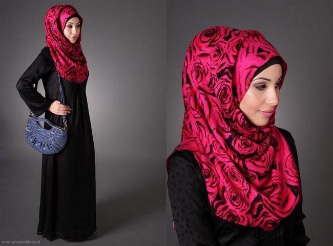 Jak vázat hidžáb - tradiční islámský ženský šátek