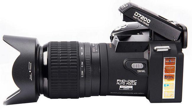 Co je lepší koupit videokameru doma?