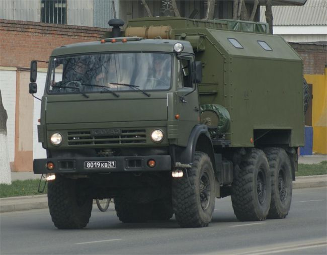 KamAZ-5350 - ruský Mustang