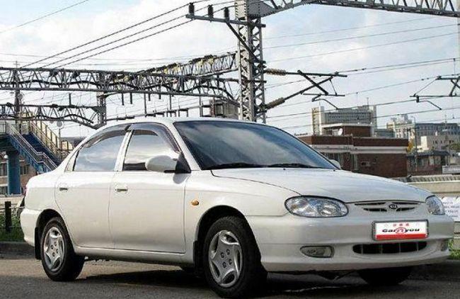 Kia Sephia - recenze aut