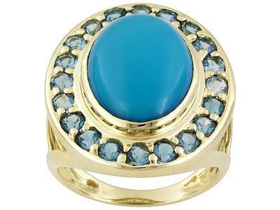 Prsten s tyrkysem - symbol lásky, štěstí a uznání