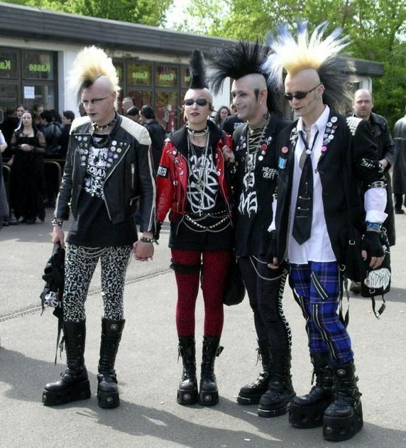 Kdo je punk? Podstata subkultury