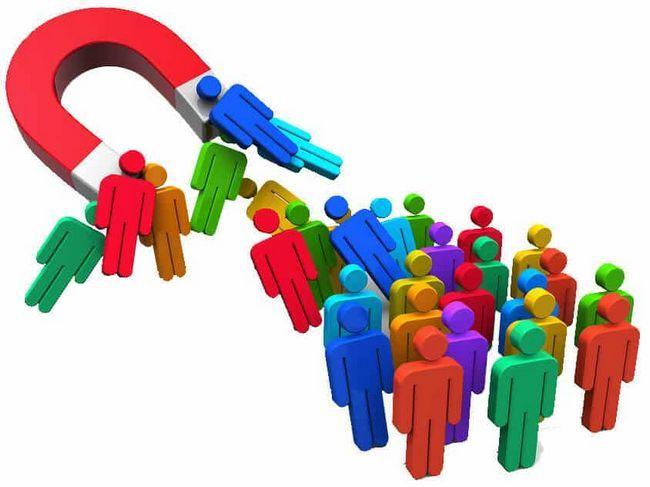 Marketing se snaží přilákat zákazníky a zvýšit prodej: příklady