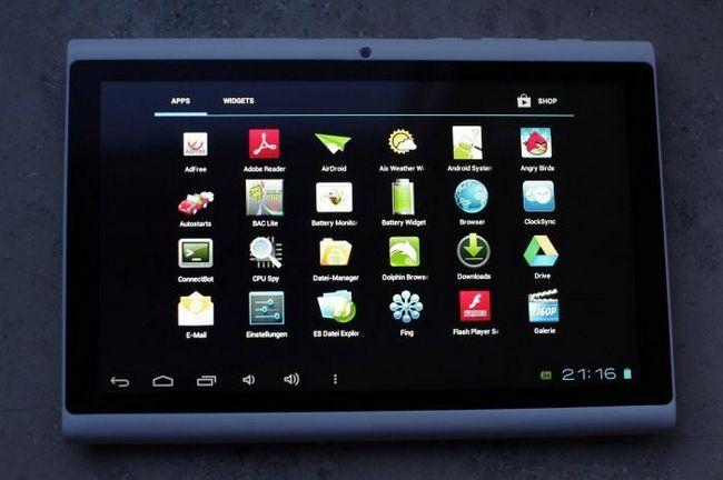 Nová tableta Hyundai a7hd