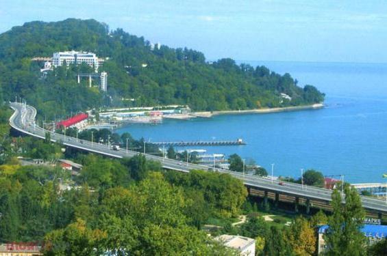 Odpočinek na Černém moři: Adlerova památka