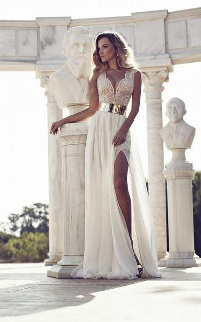Šaty v řeckém stylu: foto