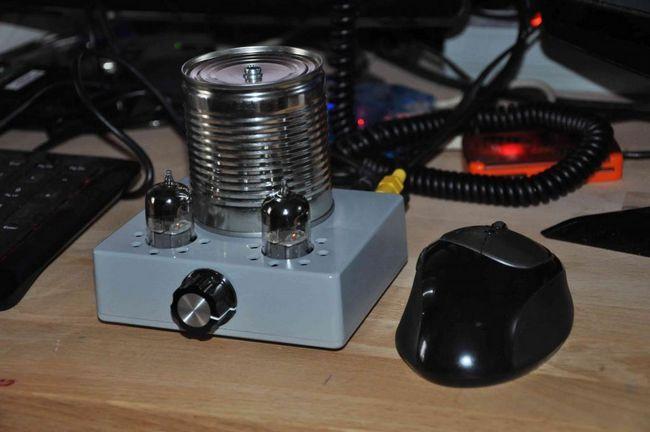 Jednoduchý sluchátkový zesilovač pro sluchátka pro hands-free