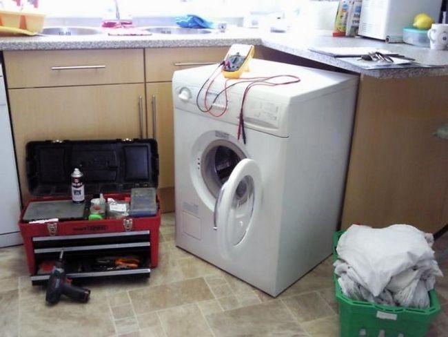 Oprava praček AEG. Různé možnosti