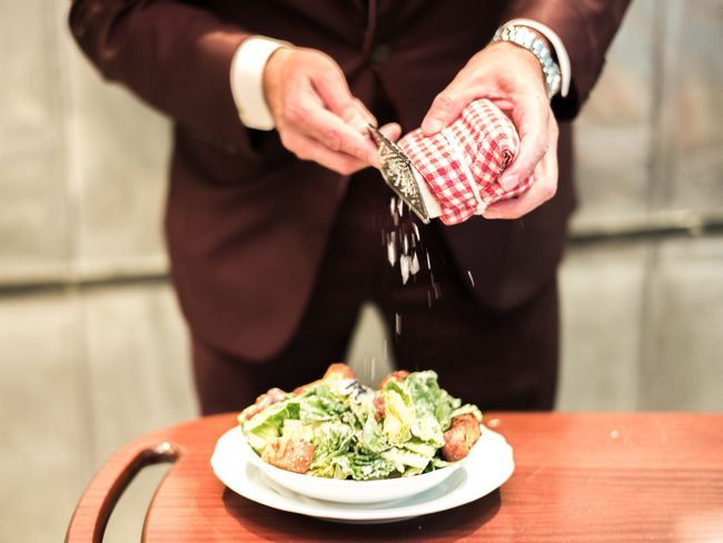 Caesar salát vaření