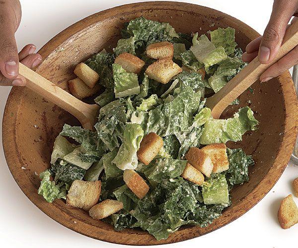 klasický salát Caesar