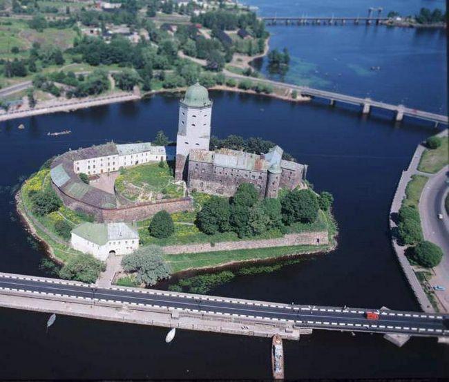 Středověký hrad Vyborg: historie, adresa, festival