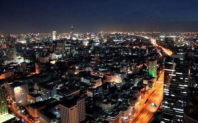 Hlavní město Thajska Bangkok je bránou do jihovýchodní Asie