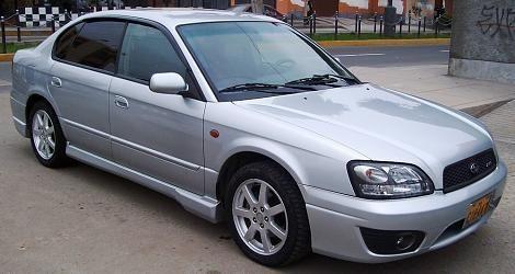 Subaru Legacy B4 - trubačka Subaru