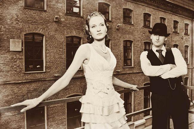 Svatební ve stylu Chicago 30-ty