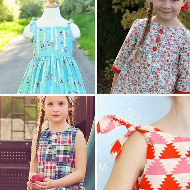 Univerzální vzor dětských šatů: konstrukce, doporučení