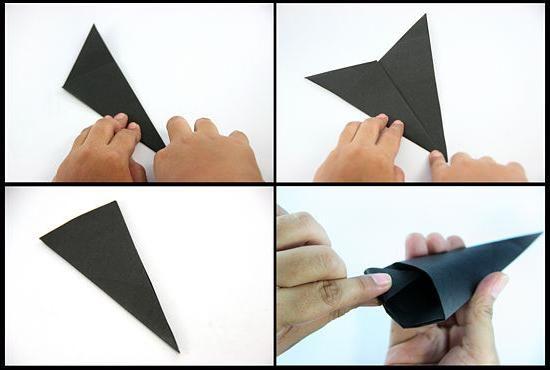 Naučíme se, jak vyrábět shuriken z papíru