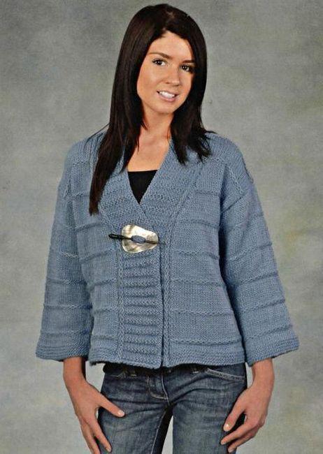 Bundy a vesty pletené pletacími jehlami: modely, barvy