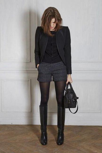 Zimní šortky: přehled modelů s tím, co je třeba nosit