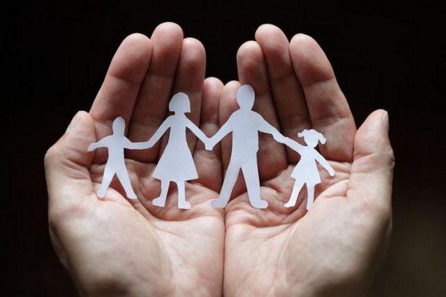 Význam rodiny v životě člověka. Děti v rodině. Rodinné tradice